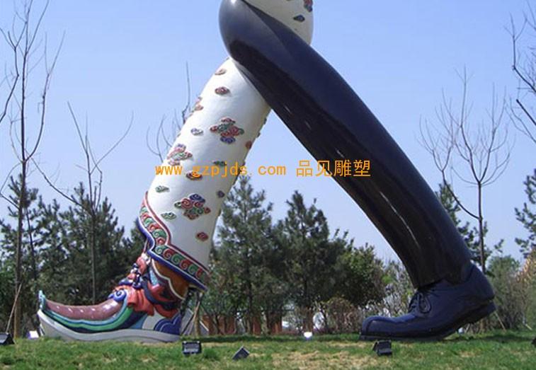 雕塑丝绸之路起点 将永久保留在世园会会场