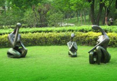 房地产雕塑