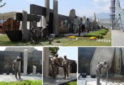 韶关矿山公园艺术长廊雕塑
