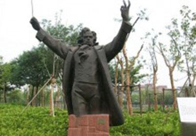 名人像雕塑-贝多芬半身像