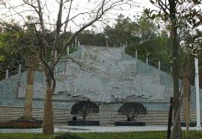 湖南长沙岳麓区政府雕塑