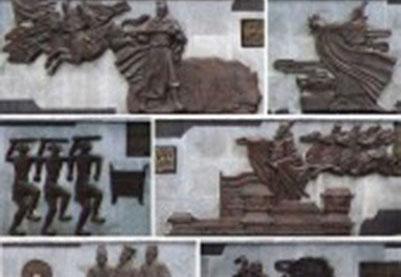 铸铜及仿铜效果浮雕
